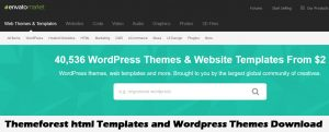 Free Themeforest html Templates and WordPress Themes Download
