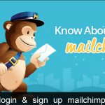 Mailchimp email marketing sign up and login tips