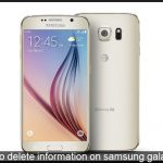 How to delete all Personal information on Samsung Galaxy S6 [Format]