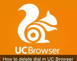 Howto Delete and Set Speed dial in Uc browser